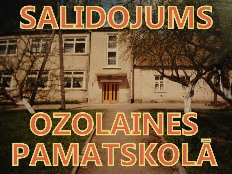 Ozolaines pamatskolas salidojums
