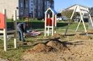 Bērnu rotaļu laukuma atjaunošana Bekšos 13.10.2016._12