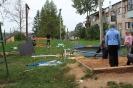 Pleikšņos uzstādīts jauns bērnu rotaļu laukums
