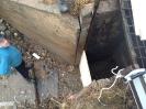 Pūpolu ūdenskrātuves tīrīšana un gājēju celiņu ierīkošana