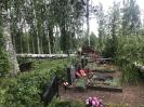 Stiprs vējš nopoista Bekšu kapsētu!_21