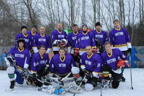Hokeju komanda 2015